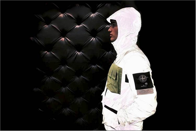 aef607401e0151 ... collection Stone Island has launched the Plated Reflective Jacket  constructed from an innovative fabric that has been engineered to be garment  dyed.